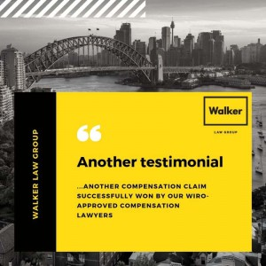 Compensation Claim Testimonial Lawyer Sydney